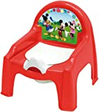 Mickey Mouse Clubhouse-WD6326 Clubhouse Orinal, Color Rojo (WD6326)