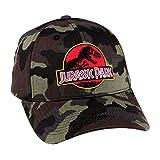 Jurassic Park - Camouflage Logo Cap
