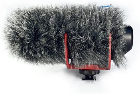 Micover Slipover Fur Windscreen for VMGO Go VideoMic Factory outlet RODE Max 73% OFF
