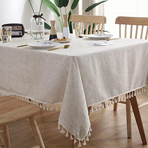 sans_marque Mantel de mesa, cubierta de mesa, mantel simple, mantel de mesa, tapete de mesa adecuado para decoración de cocina casera 140x300cm