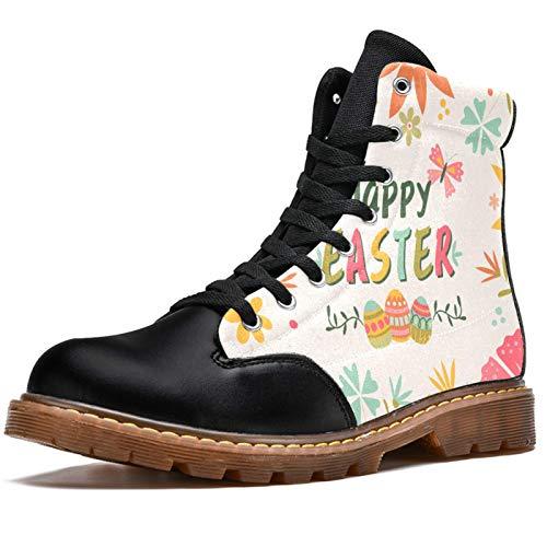 Bennigiry Niña Floral con Vestido De Flores Paraguas Mariposas Rosa Botas de Invierno Zapatos clásicos de Lona de caña Alta para Mujer