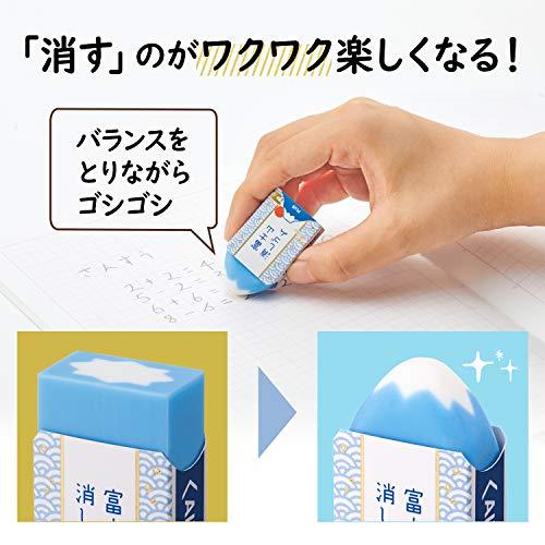 プラス消ゴムエアイン富士山消しゴム和ER100AIF12個set36-591