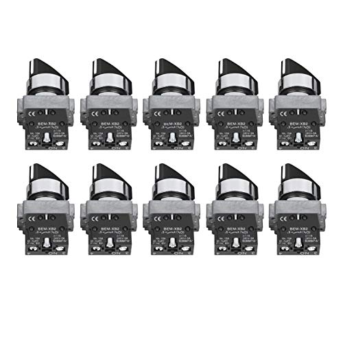 AC 240 V Selector giratorio ON-OFF 2 posiciones ABS para la industria