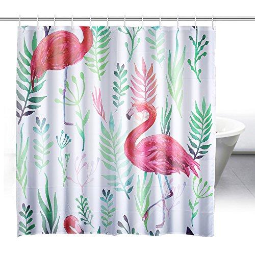 cortinas baño flamenco