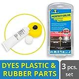 Couleur Plastique Pvc Caoutchouc Cuir et Cuir Synthétique Teinture Concentré Couleur Noir (Emballage Assorti)