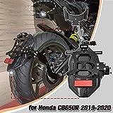 Lorababer guardabarros trasero para señal de giro, guardabarros, placa de matrícula, luz trasera, soporte para luz de giro para H-o-n-d-a CB650R CB 650R CB 650 R 2019 2020