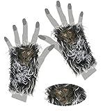 FASCHING 56499 Handschuhe Ratte Halloween NEU/OVP