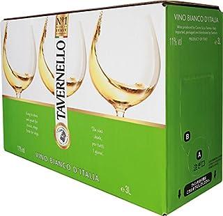【世界NO.1 イタリアテーブルワイン】 タヴェルネッロ ビアンコ (バッグ イン ボックス) [ 白ワイン 辛口 イタリア 3L ]