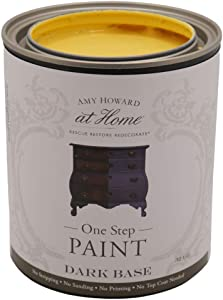 One-Step Chalk Finish Paint   Holey Moley   32 OZ   Home Improvement Furniture & Cabinet Paint for Wood, Decor, Fabric, and More   Amy Howard At Home