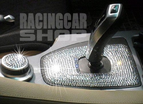 TRUE LINE Automotive Interior Exterior Iced Out Crystal Bling Diamond Sheet