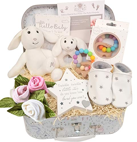 New Baby Girl Bundle Gift Set in Pink for a Newborn Baby Hamper Present...
