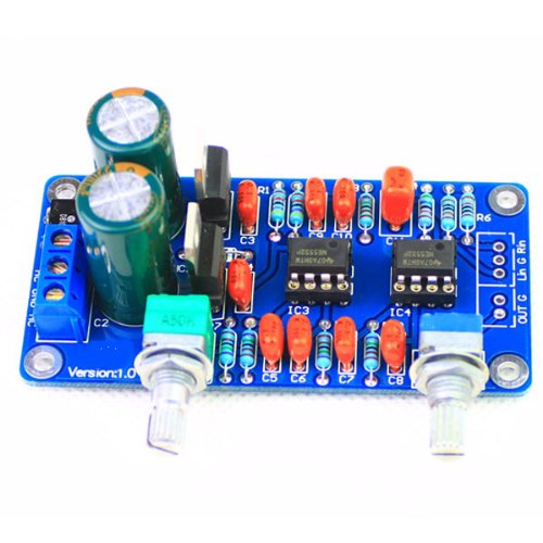 Best Buy! New Ultra Bass Processing Circuit-- Low-Pass Filter Board Finished for Amplifier