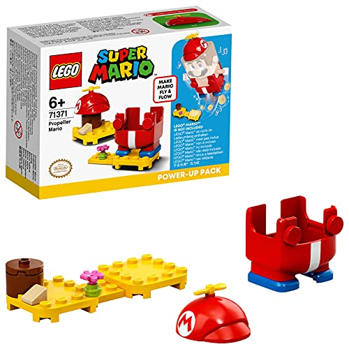 LEGO Super Mario Helicóptero Pack Potenciador, Set de Expansión, Disfraz para Juguete Fly&Flow (71371)