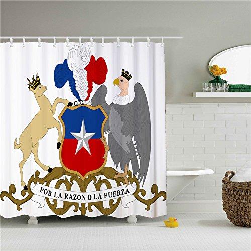 Creative Bath Rue De Rivoli Fabric Shower Curtain SIZE 69x84