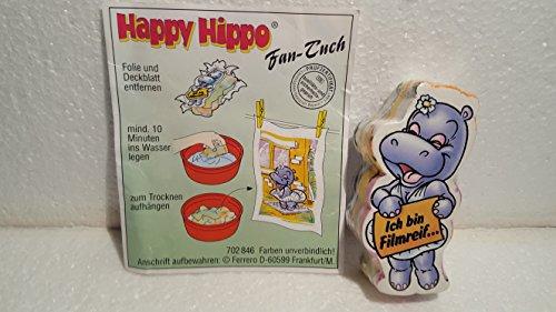 Kinder Überraschung, Happy Hippo Hollywood - MARYLINCHEN Handtuch von 1999 aus dem Maxi - Ei
