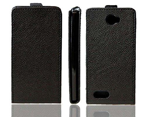 caseroxx Flipcase pour Archos 50 Diamond, Étui de téléphone Portable (Flipcase de Coloris Noir)