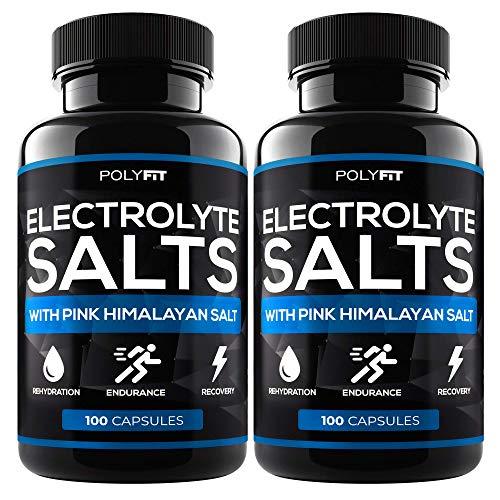 (2 Pack   200 Salt Pills) Salt Tablets Electrolyte for Runners