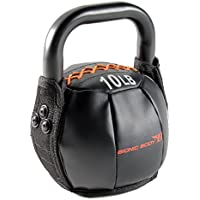 Bionic Body Soft Kettlebell with Handle 10, 15, 20, 25, 30, 35, 40 lb. for Weightlifting, Conditioning, Strength and Core Training
