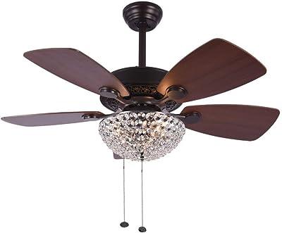 Amazon.com: Hunter Fan Ventilador de techo con cinco hojas y ...