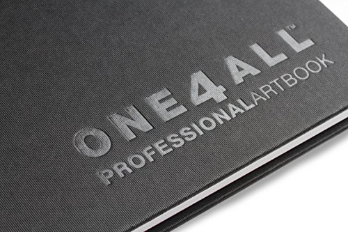 Molotow ONE4ALL Professional Artbook DIN A4 Hoch, No