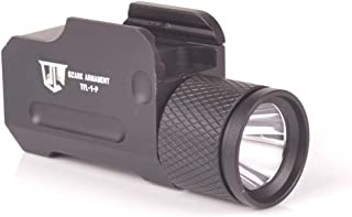 OZARK ARMAMENT 500 Lumen Pistol Light - Sealed for Water Resistance - Mounts to Picatinny Rail - Two Modes of Light Includ...