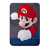 Super Mario Brothers Kids Throw Blanket Plush 46x60