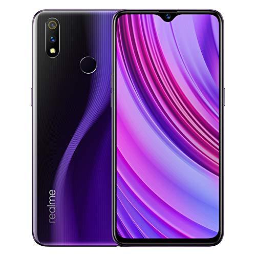 realme 3 Pro Smartphone 6.3 Pouces 4GB 64GB téléphone Mobile Intelligent 4045mAh 16 + 5MP Double caméra VOOC Charge Rapide 3.0 téléphone Portable Version Globale