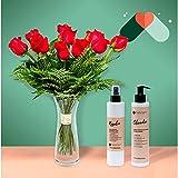 Pack Ramo París - 12 Rosas + cosmética