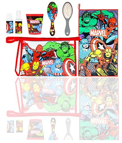 Cerdá 2100003056, Neceser Set Aseo/Viaje Avengers para Niños, Multicolor, Único