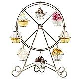 Cupcake Ständer Silber, Fellibay Creative Riesenrad Cupcake Display Ständer