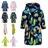 Lodunsyr Albornoces Niña Niño Pijamas y Batas Infantil Textiles de...