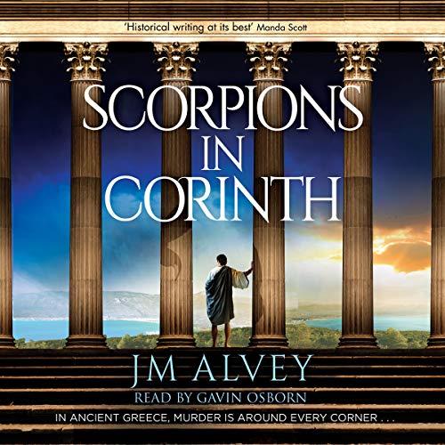 Scorpions in Corinth audiobook cover art