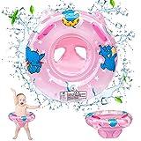 Salvagente Bambini, Salvagente Neonato Mutandina Anello di Nuoto per Bambini, Braccioli Salvagente Gonfiabile Bimbo Salvagente Neonato da Piscina Baby Float Salvagente Nuoto Anello con Sedile
