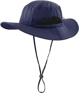 Kids Sun Protection Hat Quick Dry Adjustable Wide Brim...
