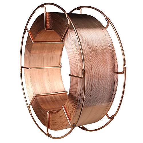 SCAPP SG3 Stahl Schweißdraht (G4Si1), Ø 0,8/1,0/1,2 mm, 15 kg Spule K300, MIG/MAG Schutzgasschweißdraht (Ø 1,0 mm)