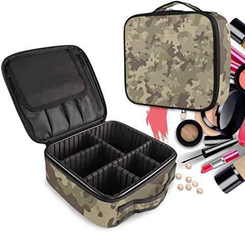 Cosmétique HZYDD Camouflage Make Up Bag Trousse de Toilette Zipper Sacs de Maquillage Organisateur Pouch for Compartiment Femmes Filles Gratuit
