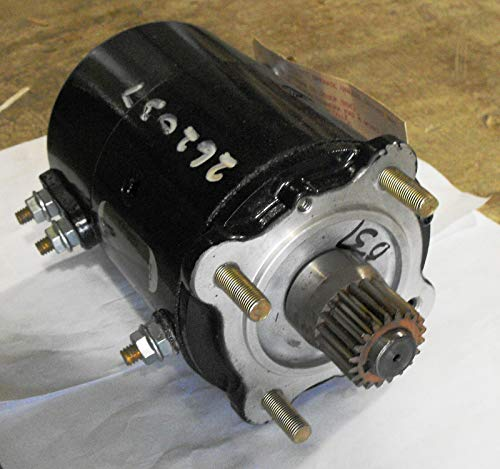 Auto Crane 12V, Electric Motor ASSEMBLY-12V, 2.5 HP, with Isolated Ground