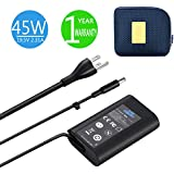 XPS 13 Charger, 45W 19.5V 2.31A Charger for Dell XPS 13 / XPS 12/12 MLK/Inspiron 14 (7437) Laptops, KSW KINGDO Power Supply with 2.9ft Power Cord Including a Carrying Pouch