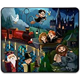 Ha_rry Pot_TER Mouse Pad- Cute Anime Game Cartoon with Stitched Edge Waterproof Anti-Slip Rubber Mouse Mat Pads for Kids Laptops Computer Pc 11.81 x 9.84 x 0.12Inch