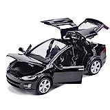 Comtervi Modelo de coche de juguete de aleación, con sonido y luz, escala 1:32 de vuelta