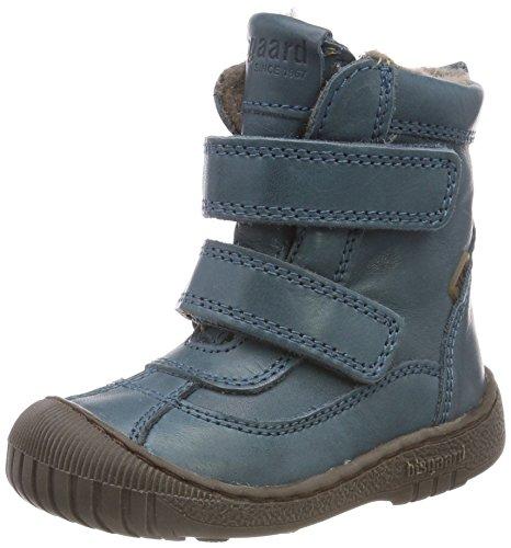 Bisgaard Unisex-Kinder 61016218 Schneestiefel, Blau (1003-1 Petrolio), 31 EU