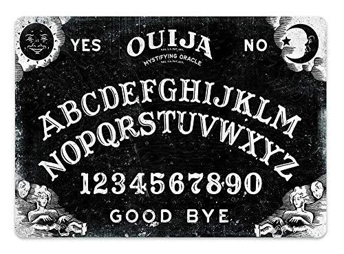 Hunnry Ouija Board Poster Metall Blechschilder Retro Dekoration Schild Aluminium Blechwaren Vintage Wandkunstplakat Zum Cafe Bar Wohnzimmer Zuhause