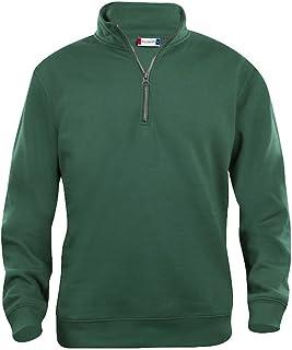 Mens 1/4 Zip Sweatshirt- Quarter Zip Sweater- Plain Colour- No Logo- 7 Colours- S-5XL