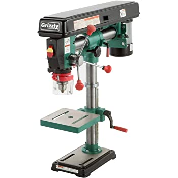 """Grizzly Industrial G7945-34"""" Benchtop Radial Drill Press"""