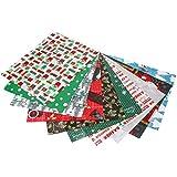 EXCEART 20 Stück Baumwollstoff mit Weihnachtsmotiv für