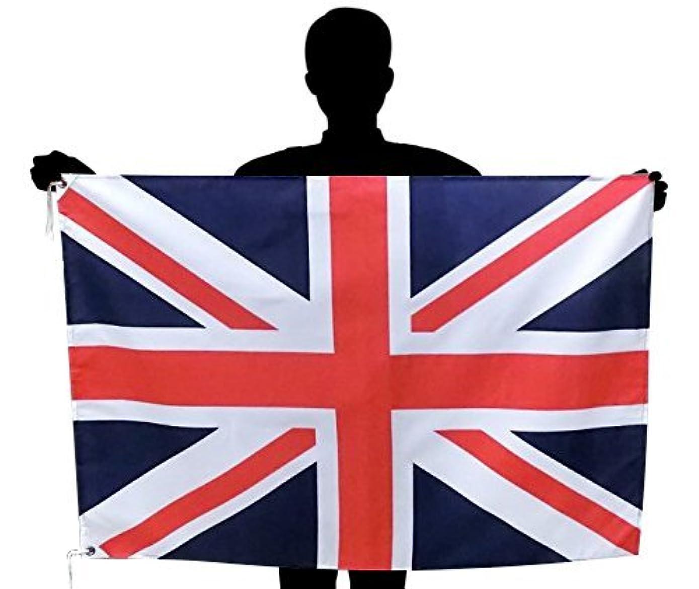 欠伸ストリップこっそりイギリス国旗 NO1 ユニオンジャック?英国 国旗 [70×105cm 高級テトロン製]日本製