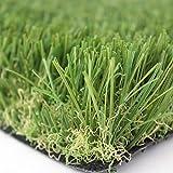 Prato sintetico 30mm manto erboso finta erba giardino tappeto 20 MISURE DISPONIBILI (Metri 1x3)