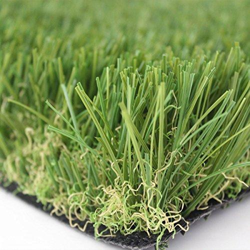 Olivo.Shop - LUXURY GRASS GREEN, Prato Sintetico Da 30Mm Disponibile In Varie Misure, Manto Erboso Di Alta Qualità Per Il Giardino. (Metri 2X5)