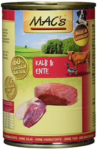 MAC's Kalb & Ente, 6er Pack (6 x 400 g)