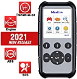 Autel ML629 OBD2 Scanner, 2021 Enhanced Version of AL619, ABS SRS Engine Transmission Diagnosic Tool with Auto VIN, DTC Lookup, Ready Test